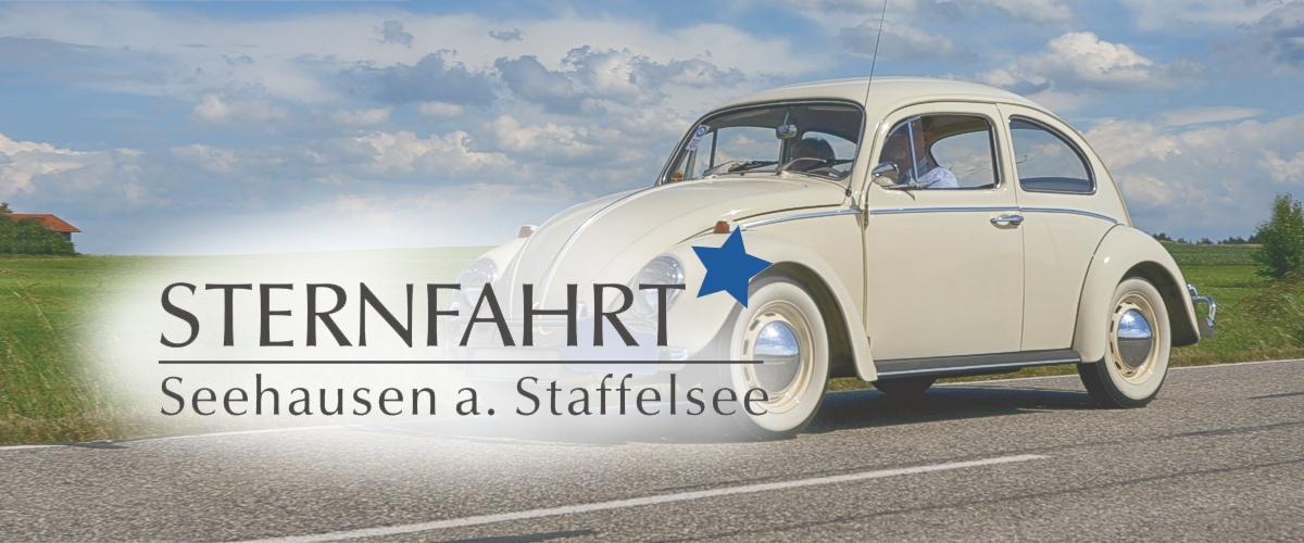 """""""Stern-Fahrt"""" nach Seehausen Staffelsee"""